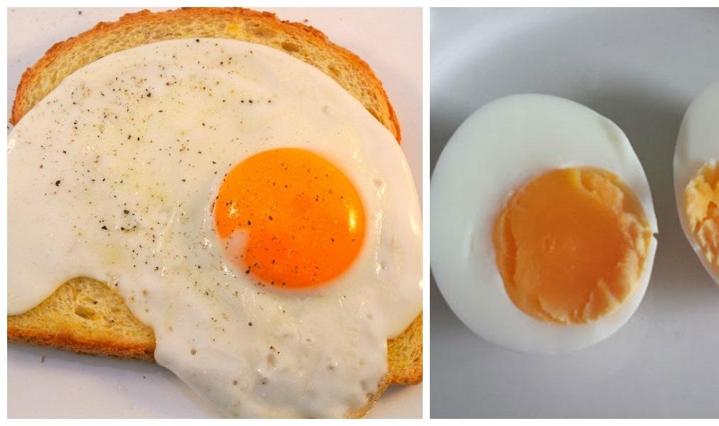 was ist denn jetzt eigentlich ges nder ein gekochtes ei oder spiegelei. Black Bedroom Furniture Sets. Home Design Ideas