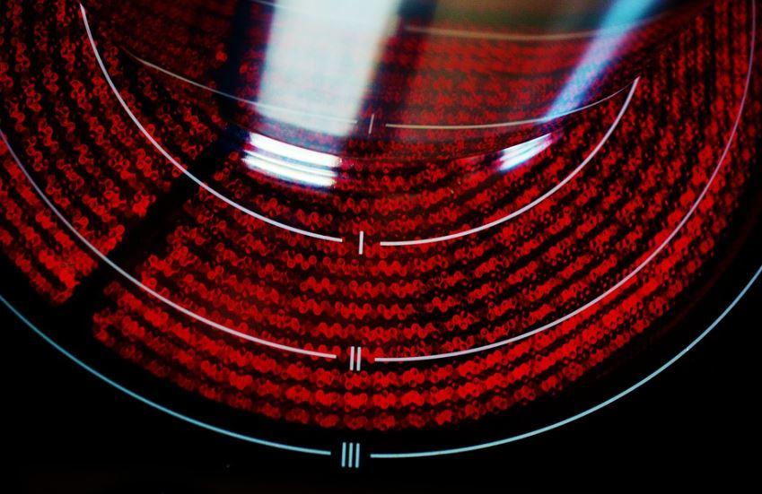 blitzeblanke Ceranherdplatte